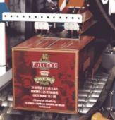 2 Fullers beer cardboard box printed 250 width